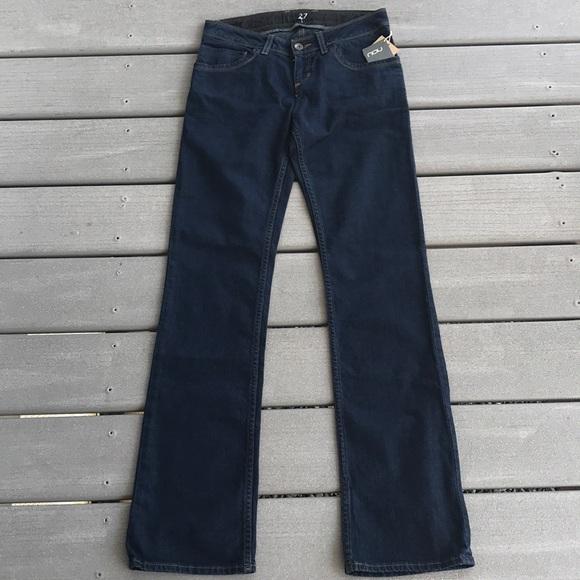 Nau Denim - NAU Women Slim Straight Cut Jeans, Size 27